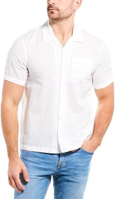 James Perse Voile Lotus Shirt