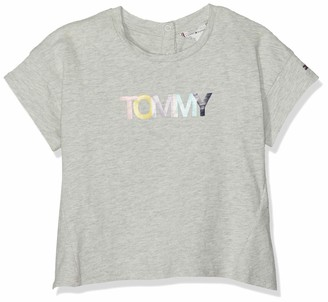 Tommy Hilfiger Baby Girls' Colored Tommy Logo S/s T-Shirt