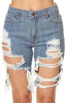 GJG Denim Daisy Bermuda Shorts