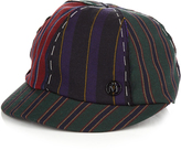 Maison Michel Warren striped cap