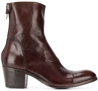 Alberto Fasciani Maya block-heel ankle boots