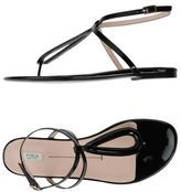 Furla Toe post sandal