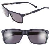 BOSS '0704PS' 57mm Polarized Sunglasses