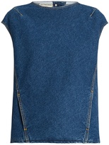 Balenciaga Crew-neck denim top