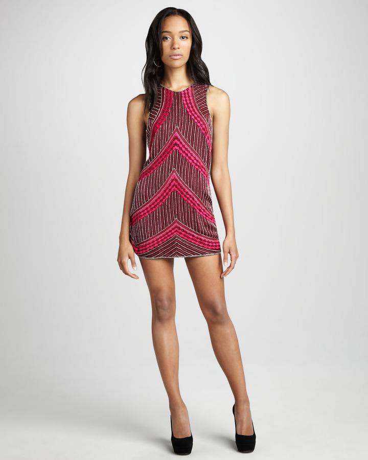 Parker Wavy-Bead Dress