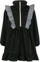 Sandy Liang zip-through ruffle dress