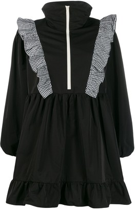 Sandy Liang zip-through ruffle dress