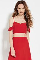 Forever 21 FOREVER 21+ Contemporary Cami Crop Top