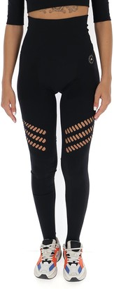 adidas by Stella McCartney Truestrength Warp Knit Yoga Leggings