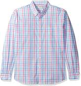 Dockers Long-Sleeve Multi Gingham Button-Front Shirt with Pocket