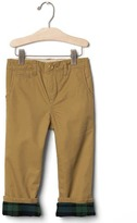Gap Flannel-lined chinos