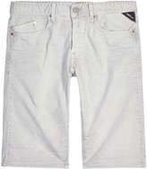Replay Waitom Stone Denim Shorts