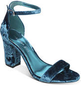 Madden-Girl Bella Two-Piece Block-Heel Sandals
