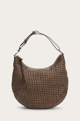 The Frye Company Melissa Woven Scooped Hobo