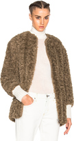 Etoile Isabel Marant Abril Easy Faux Fur Coat