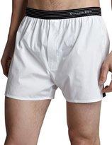 Ermenegildo Zegna Woven Boxers, White
