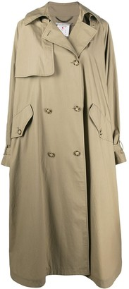 Stella McCartney Oversized Double-Breasted Trench Coat