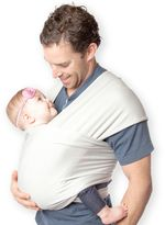Moby® Wrap Viscose from Bamboo Baby Carrier in Cloud