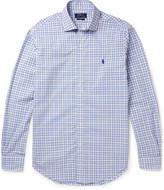 Polo Ralph Lauren - Cutaway-collar Checked Cotton Shirt