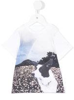 Stella McCartney Arlo Meat Free Monday T-shirt - kids - Cotton - 9 mth