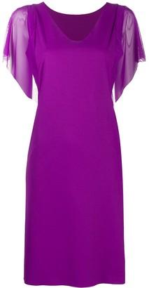 Wolford Miranda sheer-sleeve dress