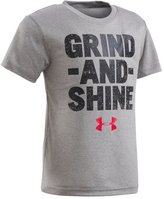 Under Armour Boys' Pre-School UA Grind And Shine Short Sleeve T-Shirt