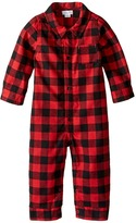 Mud Pie Buffalo Check One-Piece (Infant)