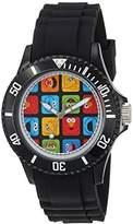 EWatchFactory 'Sesame Street' Quartz Plastic Casual Watch