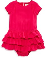 Kate Spade Infant Girls' Tiered Knit Dress & Bloomer Set - Sizes 12-24 Months