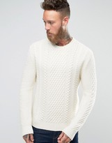 Edwin Cable Knit Jumper