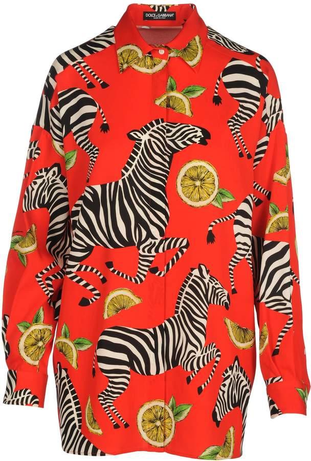 Dolce & Gabbana Camicia Zebra