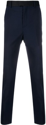 Les Hommes Tailored Straight Leg Trousers