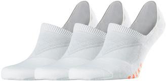 Falke Men's 3-Pack Cool Kick Invisible Socks
