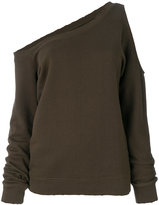 RtA asymmetric sweatshirt