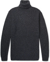 Altea Mélange Knitted Rollneck Sweater