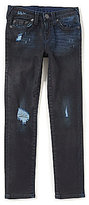 True Religion Big Boys 8-20 Rocco Destructed Skinny Jeans