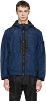 Stone Island Indigo Iridescent Hooded Jacket