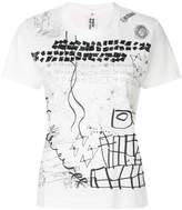 Comme des Garcons printed T-shirt