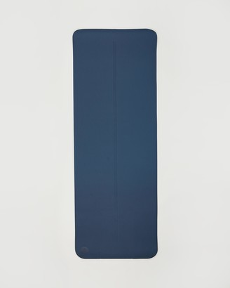 Manduka Blue Yoga Accessories - Begin 5mm - 68 Inch - Size One Size at The Iconic