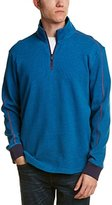 Robert Graham Men's Prescott Long Sleeve Knit 1/4 Zip