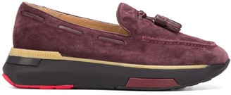 Fratelli Rossetti Platform Suede Loafers