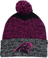 '47 Carolina Panthers Static Cuff Pom Knit Hat