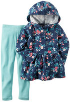 Carter's 2-Piece French Terry Hoodie & Legging Set