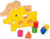 Giggle Wood Elephant Shape Sorter
