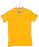 Armani Junior teen logo polo shirt - kids - Cotton - 14 yrs