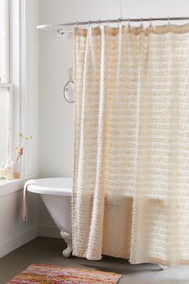 Urban Outfitters Winnie Eyelash Fringe Shower Curtain