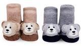 Infant Waddle & Friends 2-Pack Animal Rattle Socks