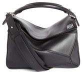 Loewe 'Mini Puzzle' Calfskin Leather Bag - Grey