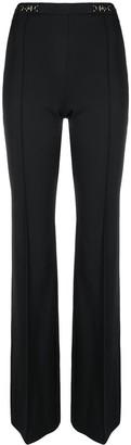Elisabetta Franchi Logo Detail Bootcut Trousers