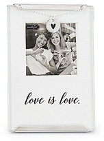 Mud Pie Wedding Collection Love is Love Clip Frame